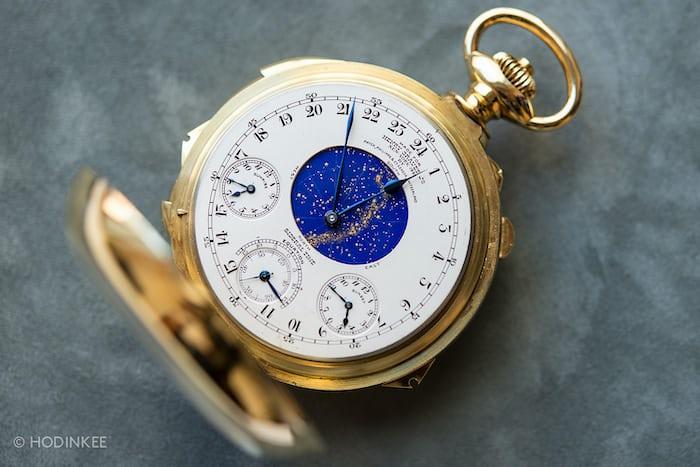 hodinkee supercomplication patek philippe