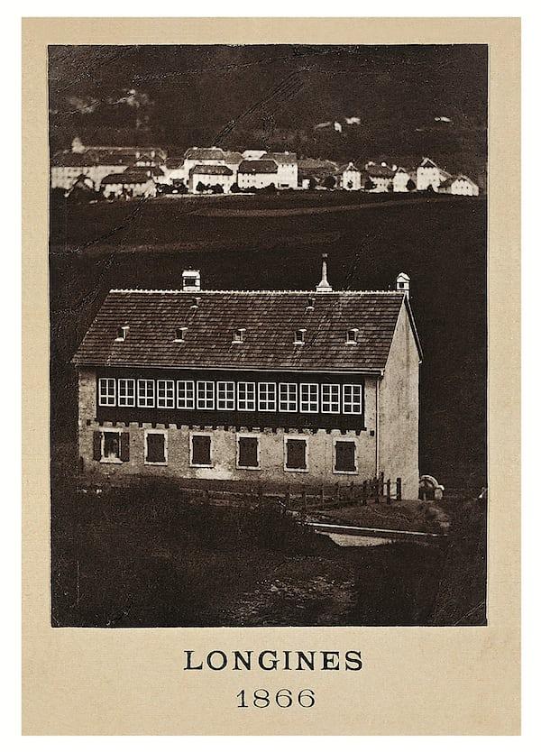 サンティミエにあった当時の本社社屋。