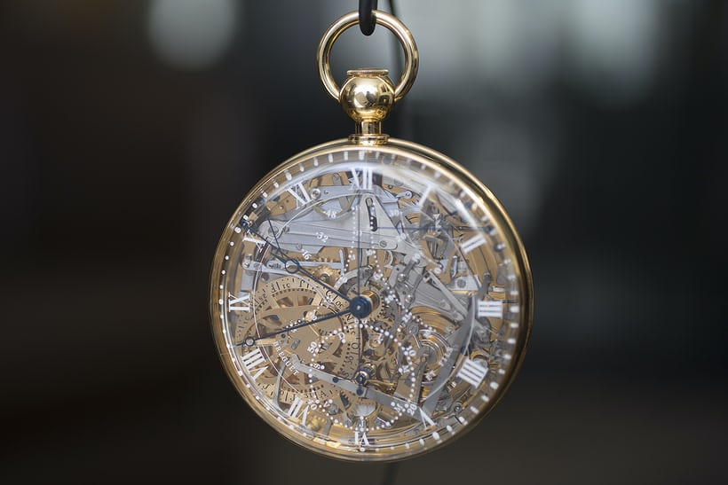 """Breguet 1160, an exact reproduction of the Breguet 160, or """"Marie Antoinette."""""""