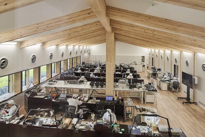 グランドセイコースタジオ 雫石のクリーンルーム