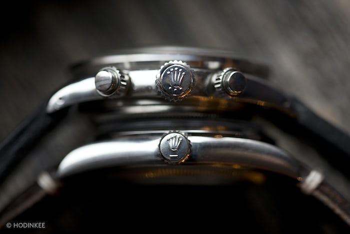 Vintage Rolex Crowns Triplelock Vs. Twinlock