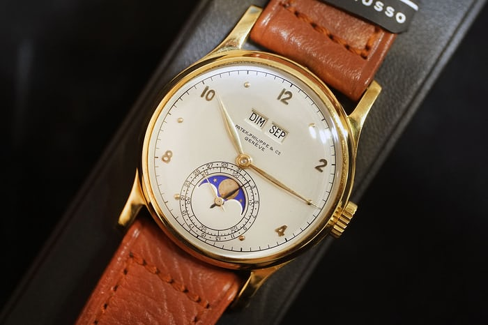 Patek Philippe reference 1526 pink gold
