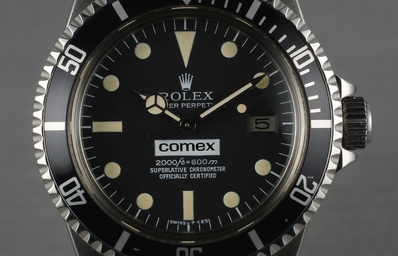 Rolex COMEX Sea-Dweller; depth rating 600 meters